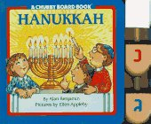 9780689809118: Hanukkah Book With 3 Dreidels (Chubby Board Books)
