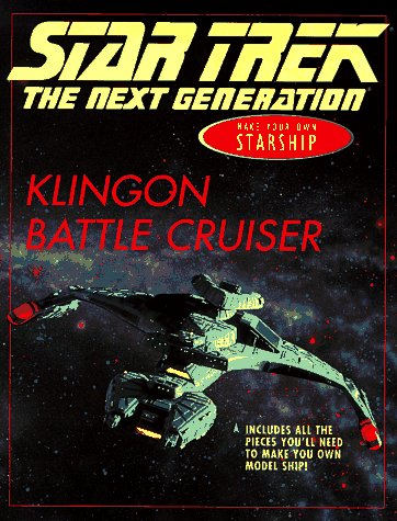 9780689809200: Star Trek the Next Generation Klingon Battle Cruiser: Make Your Own Starship