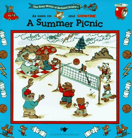 9780689809910: A SUMMER PICNIC: BUSY WORLD RICHARD SCARRY #5 (The Busy World of Richard Scarry)