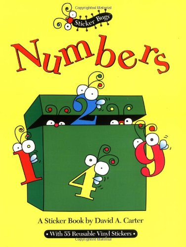 9780689810411: Numbers (Sticker Bugs)