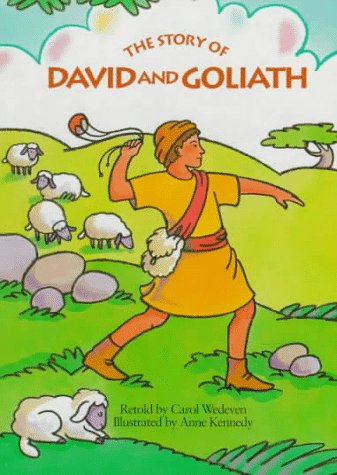 9780689810572: The Story Of David Goliath (My First Bible Stories Board Books)
