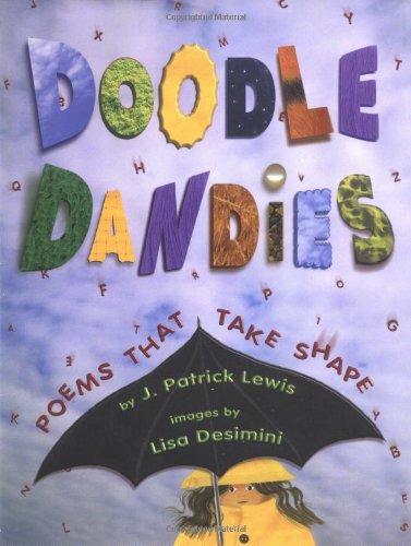 9780689810756: Doodle Dandies: Poems That Take Shape