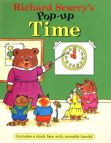 9780689810770: Richard Scarry's Pop-up Time