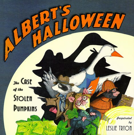 9780689811364: Albert's Halloween: The Case of the Stolen Pumpkins