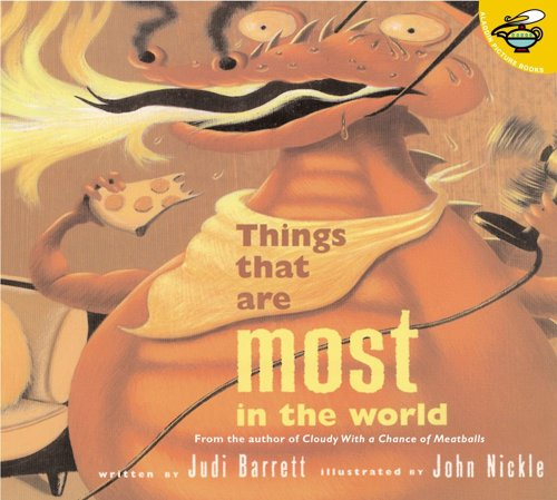 The Things That Are Most In the: Judi Barrett