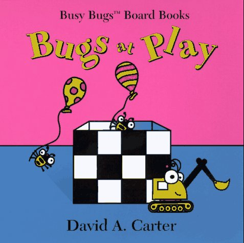 9780689813443: Bugs At Play (Busy Bugs Board Books)