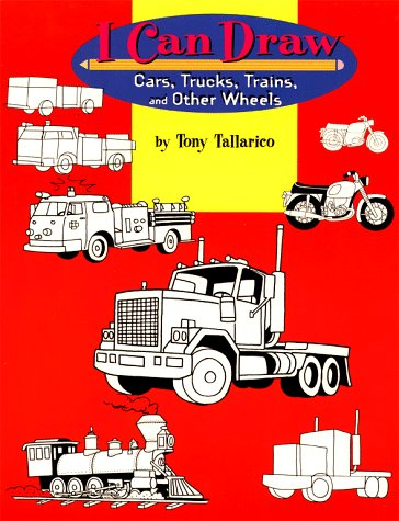9780689814525: I Can Draw Cars, Trucks, Trains, & Other Wheels