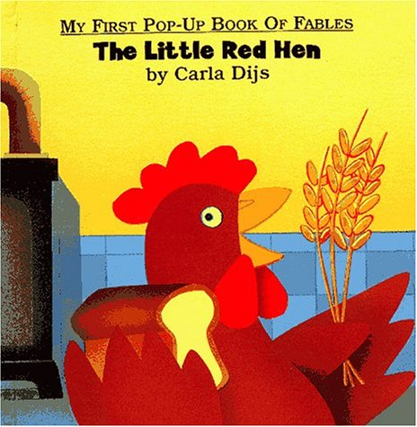 9780689814815: Little Red Hen, The (My First Pop-Up Book of Fables)