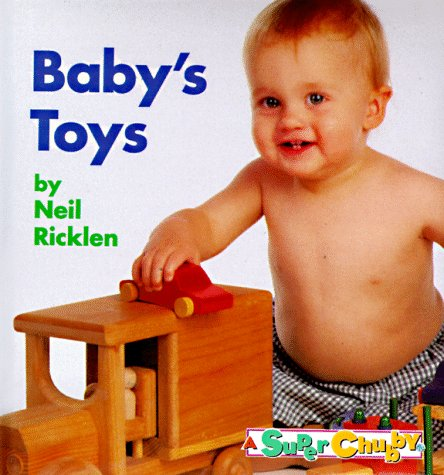 9780689815485: Baby Toys (Super Chubby Photo Board Book)