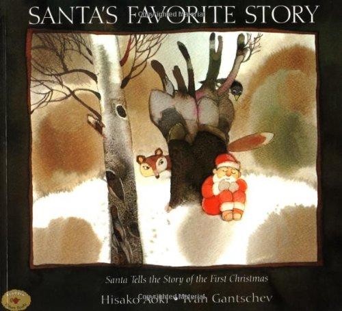 Santa's Favorite Story (Aladdin Picture Books): Aoki, Hisako; Gantschev, Ivan