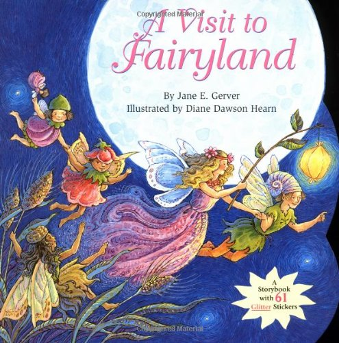 9780689817359: A Visit to Fairyland (Glitter Sitcker Book)