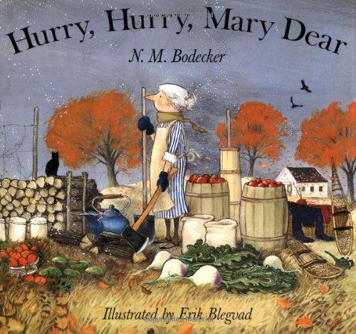 9780689817700: Hurry, Hurry, Mary Dear!