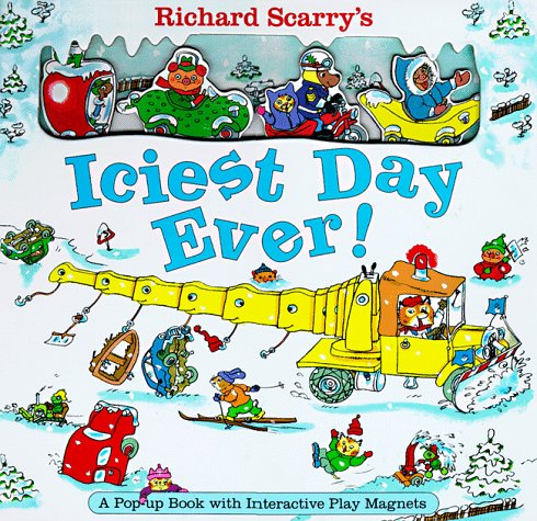 9780689818462: Richard Scarrys Iciest Day Ever (The Busy World of Richard Scarry)
