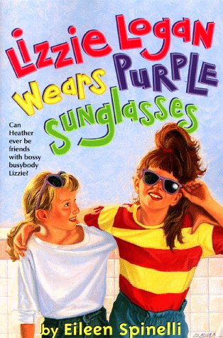 9780689818486: Lizzie Logan Wears Purple Sunglasses