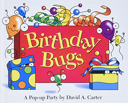9780689818585: Birthday Bugs: A Pop-up Party by David A. Carter (David Carter's Bugs)