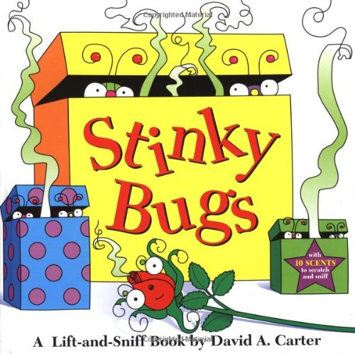 9780689818660: Stinky Bugs: A Lift-And-Sniff Book