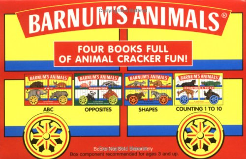9780689819186: Barnum's Animals: Opposites, Shapes, Abc, Counting 1 to 10