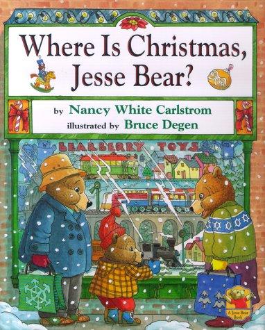 9780689819629: Where is Christmas, Jesse Bear?