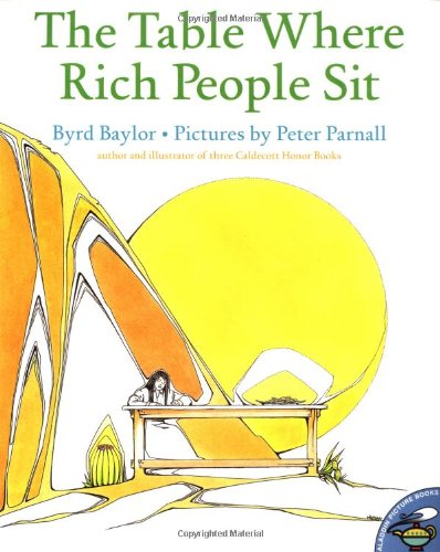 9780689820083: The Table Where Rich People Sit (Aladdin Picture Books)