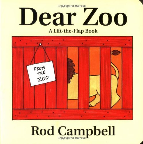 9780689825491: Dear Zoo: A Lift-The-Flap Book
