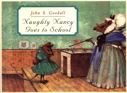 9780689825637: Naughty Nancy Goes to School