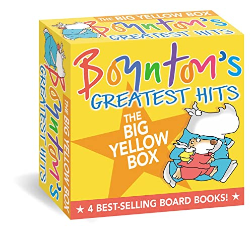 9780689826634: Boynton's Greatest Hits: The Going to Bed Book, Horns to Toes, Opposites, but Not the Hippopotamus