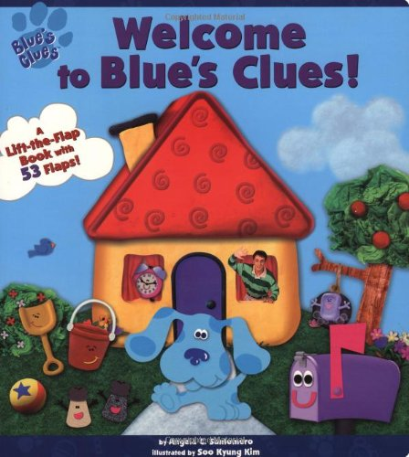 9780689829529: Welcome To Blue's Clues (A Lift-the-Flap Book)