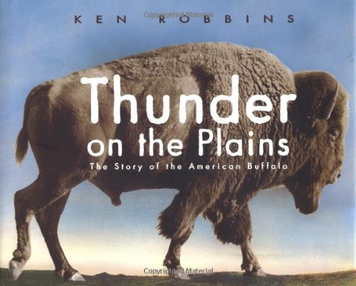 9780689830259: Thunder on the Plains: The Story of the American Buffalo