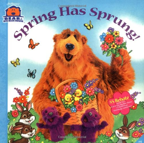 9780689830648: Spring Has Sprung! (Bear in the Big Blue House (Paperback Simon & Schuster))