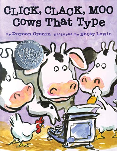 9780689832130: Click, Clack, Moo: Cows That Type
