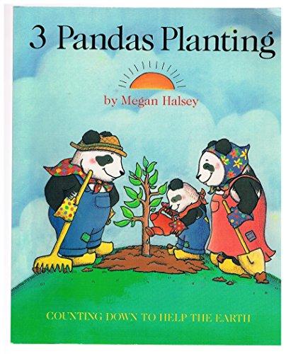 9780689833045: Three Pandas Planting