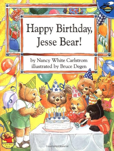 Happy Birthday. Jesse Bear!