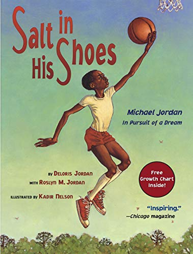 9780689834196: Salt in His Shoes: Michael Jordan in Pursuit of a Dream