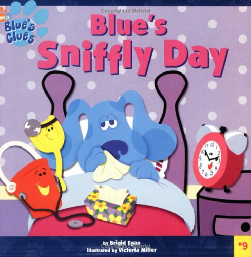 9780689838743: Blue's Sniffly Day (Blue's Clues)