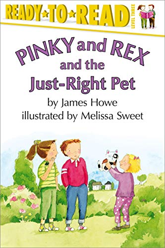 9780689839429: Pinky and Rex and the Just-right Pet