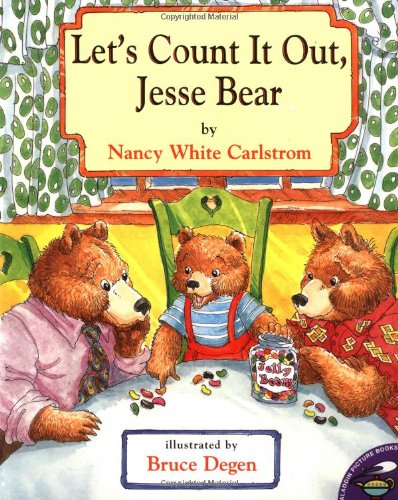 Let's Count It Out, Jesse Bear (0689842570) by Nancy White Carlstrom