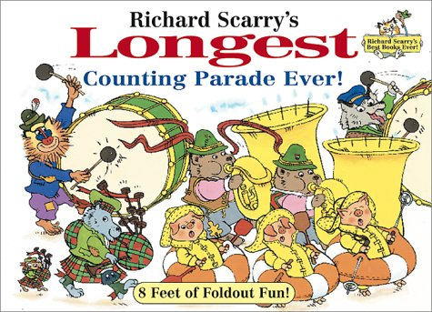 Richard Scarry's Longest Counting Parade Ever!: 8: Richard Scarry
