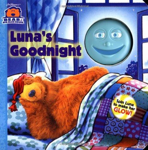 9780689844225: Luna's Goodnight (Bear in the Big Blue House (Board Books Simon & Shuster))