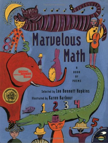 9780689844423: Marvelous Math: A Book of Poems (Aladdin Picture Books)