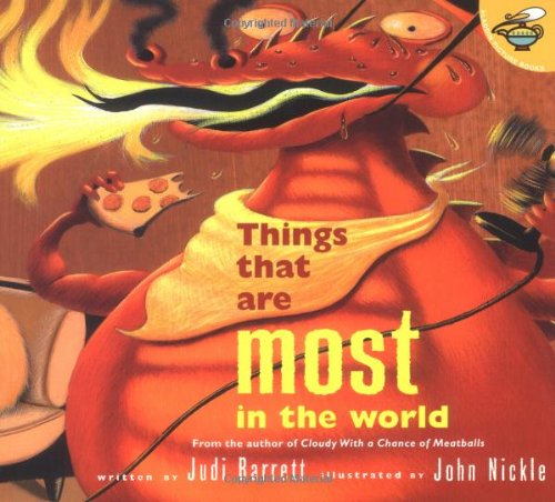 Things That Are Most in the World: Judi Barrett