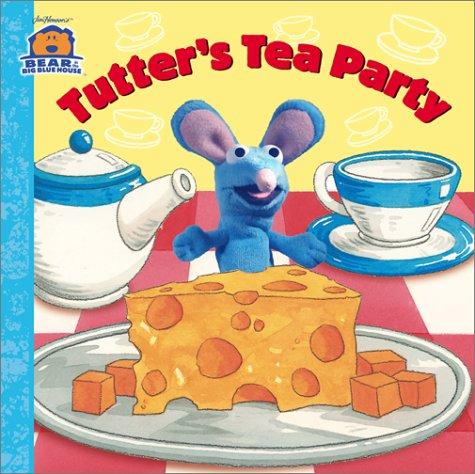 9780689844980: Tutter's Tea Party (Bear in the Big Blue House Board Book)