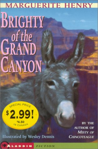 9780689845222: Brighty Of The Grand Canyon- Kidspicks 2001