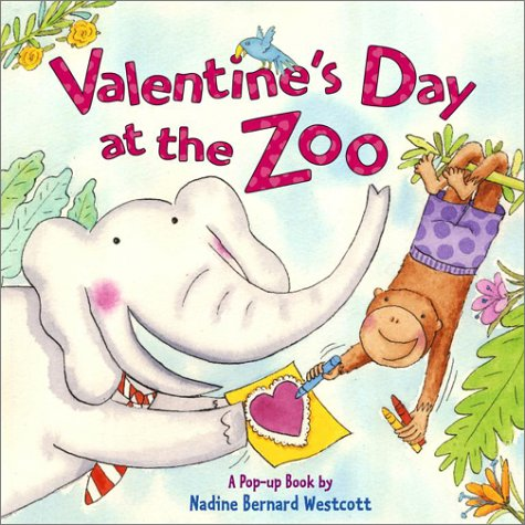 9780689845673: Valentine's Day at the Zoo (Pop Up Book)