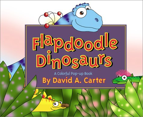 9780689846434: Flapdoodle Dinosaurs (Pop Up)