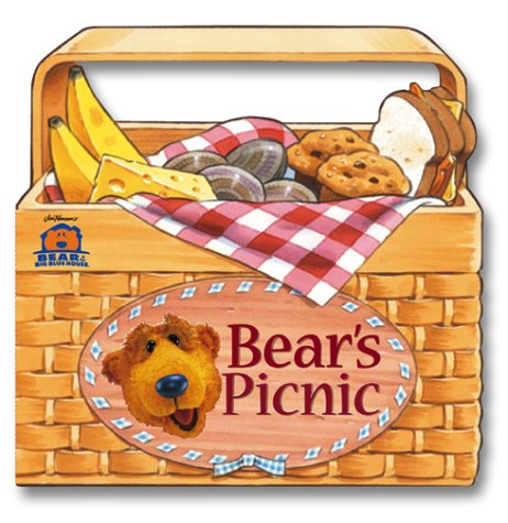 Bear's Picnic (Bear in the Big Blue House): Kantor, Susan; Strader, P. Kevin