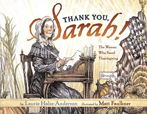 Thank You, Sarah: Thank You, Sarah (Hardback): Laurie Halse Anderson