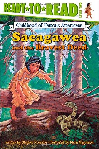 9780689848032: Sacagawea and the Bravest Deed