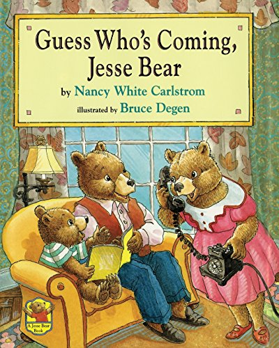 9780689848209: Guess Who's Coming, Jesse Bear