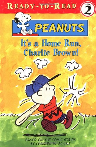 9780689849398: It's A Home Run, Charlie Brown! (Ready-To-Read: Level 2 Reading Together)