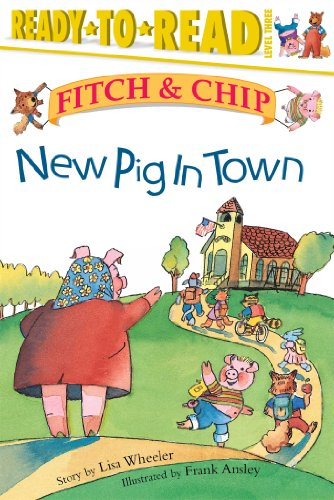 9780689849503: New Pig in Town (Fitch & Chip)